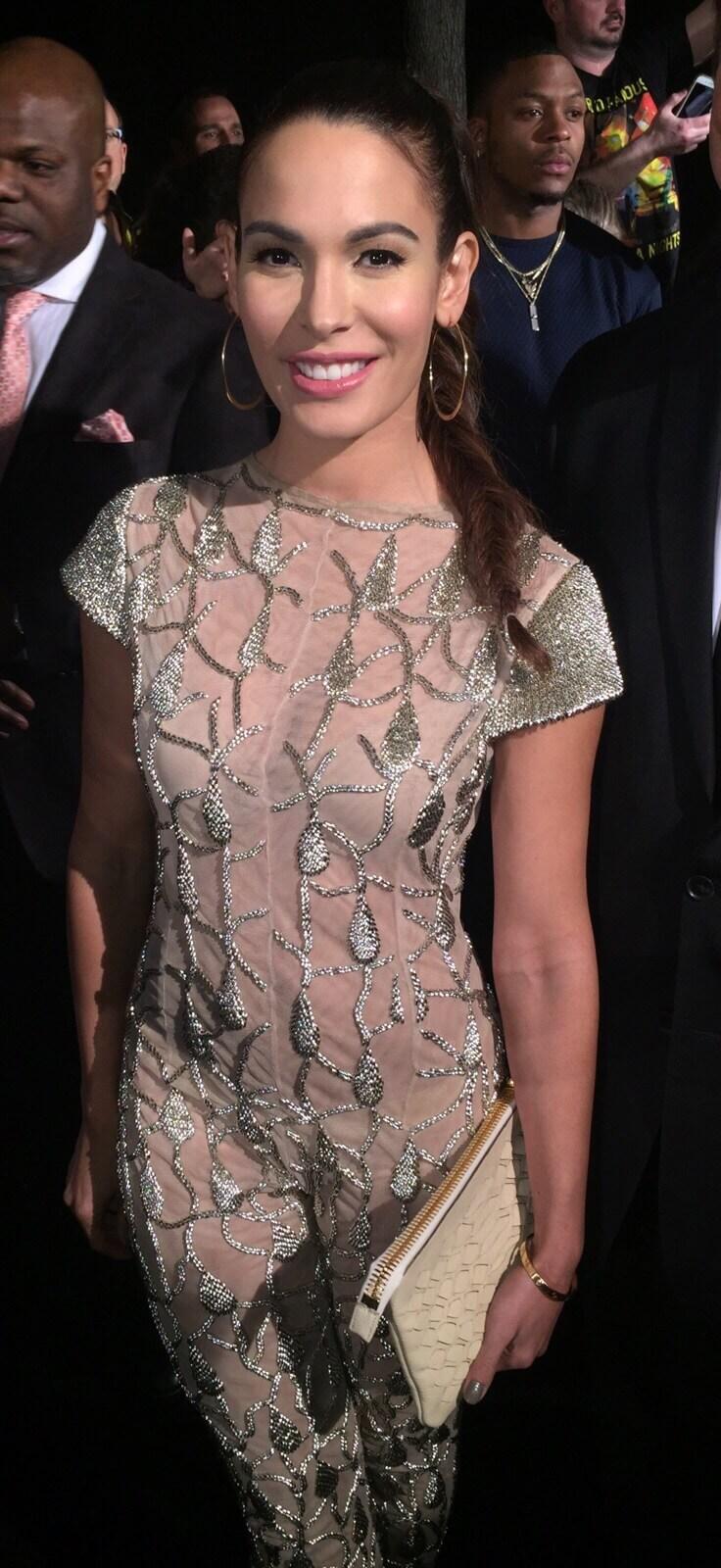 Nadine Velazquez Red Carpet_Enero 2016