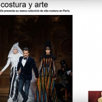 Alta costura y arte | Vogue México